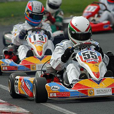 Billetterie karting
